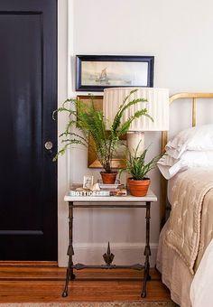 fern, white bedrooms, bedroom inspir, master bedroom