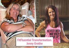 My healthy transformation