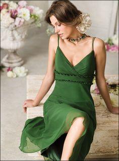 Stunning green dress!