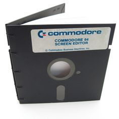 Floppy Disk Journal - Recycled - Commodore 64