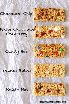chewy granola bars homemade, no bake granola bar recipe, granola bars no bake, homemade granola bars, chewy granola bar recipe