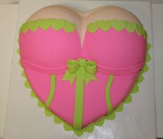 Image detail for -Lingerie Shower Cake - 3D Cake with Fondant Icing and Accents Alicia Shower, Lingeri Shower, Cake Design, Shower Cakes, Lingerie Shower Cake, 3D Cakes