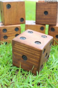 DIY Yard Dice Tutori