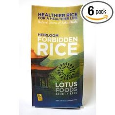 Lotus Foods Forbidden Rice, 15-Ounce (Pack of 6)
