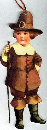 Pilgrim  pilgrim boy, thanksgiv, pilgrim gift, gift tags, vintage inspired