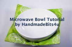 Microwave Bowl Potholder | Sewing Patterns | YouCanMakeThis.com