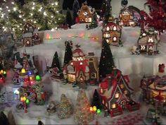 70 foot Christmas village
