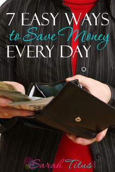 I live extremely well on only $18k/year, so I could have easily made this post 1,000 easy ways to save money every day, but here are my top tips that will help you cut expenses every single day.