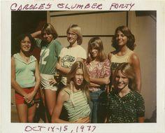 Slumber Party circa 1978