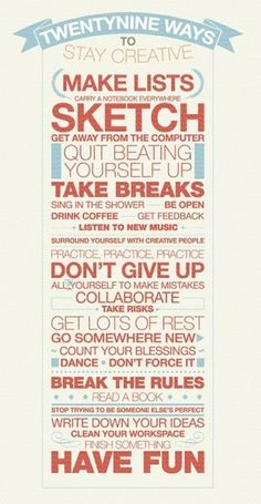Stay creative! remember this, inspiration, stay creativ, art, posters, quot, print, design, thing