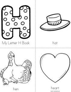 activities for preschoolers on pinterest tot school letter h crafts