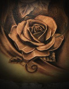 realist rose tattoos - Google Search