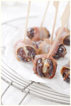 Bacon Wrapped Stuffed Dates « Kayotic Kitchen
