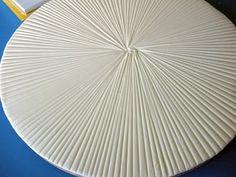 grooved fondant cake board