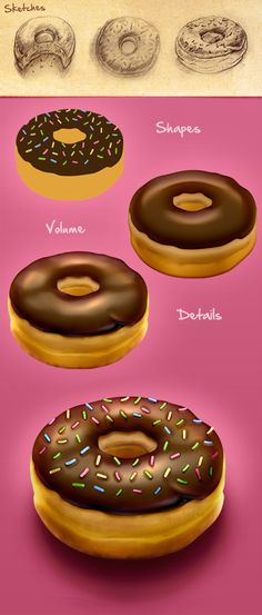 'Making of' donut iPhone icon