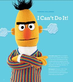 Find tips and strategies for helping your child overcome frustrations in our Little Children, Big Challenges family guide. Download and print for FREE at: www.sesamestreet.org/challenges.