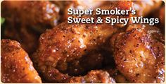 I have a Masterbuilt Electric Smoker that I LOVE! I am always trying new recipes in it - chicken, steak. lobster, crab legs - you name it! I'll be trying these next.