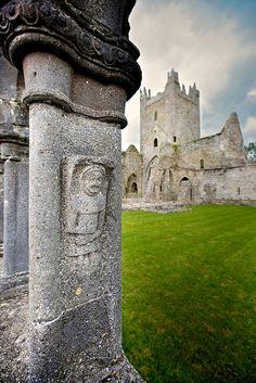 Jerpoint abbey. Kilkenny, Ireland