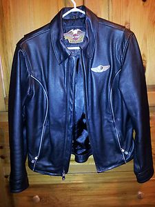 Harley Davidson 100th Anniversary Items | 100th Anniversary Harley Davidson Leather Jacket, Womens Medium, RARE ...