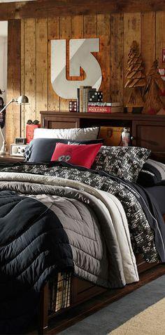 Burton Colorblock Quilt #kids #rooms #bedroom