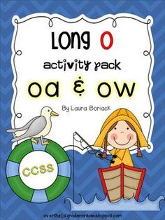 Long O oa & ow ~ Activity Pack