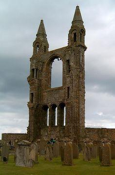 Abandoned Church ~ Scotland