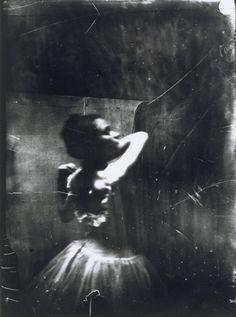 Edgar Degas: 'Dancer Adjusting her Shoulder Strap'. Photograph taken c.1895-6.