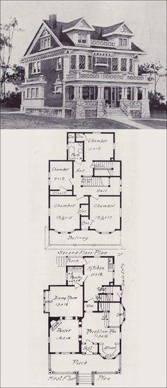 1908 Western Home Builder — V. W. Voorhees of Seattle