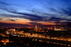 Renaissance sky - Florence, Italy. by Cretense.
