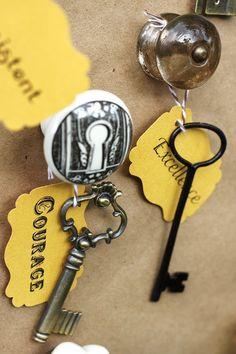"""Keys To Success"" Decoration"