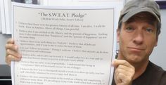 12 Points in Mike Rowe's S.W.E.A.T. Pledge - Exactly What Americans Need to Regain Its Can-Do Spirit