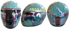 Boba Fett Motorcycle Helmet? Too cool