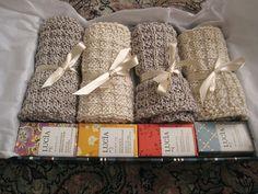 gift baskets, homemade soaps, knitting patterns, gift ideas, knit washcloth, knitted washcloth, knitted gifts, knit patterns, christmas gifts