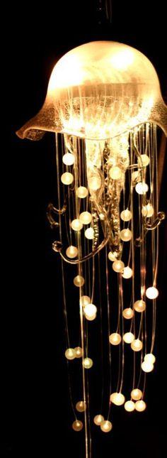: Jellyfish chandelier