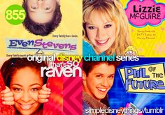 These are original Disney Channel shows I Loved!!!!