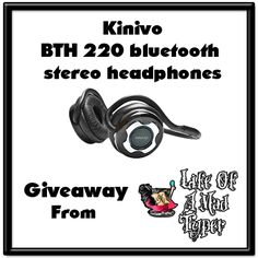Hands Free with Kinivo stereo Headphones #Giveaway