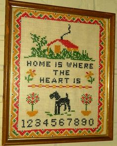 Hey, I found this really awesome Etsy listing at https://www.etsy.com/listing/122186817/needlepoint-vintage-1970s-folk-art