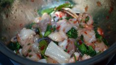 SPOONING'S SEAFOOD MARINARA http://spooningaustralia.com/recipes/seafood-marinara/ Here is my own recipe for sweet chilli and lemon myrtle seafood marinara - so easy to make, even the kids could get this one right :) Enjoy!!