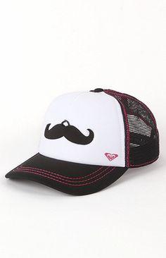 Mustache Trucker Hat!