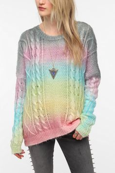 This UNIF Cake Sweater is deliciously adorable.