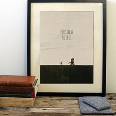 Where The Wild Things Are poster, minimalist movie poster free shipping