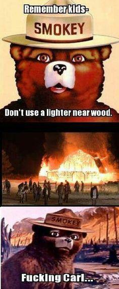 Smokey....