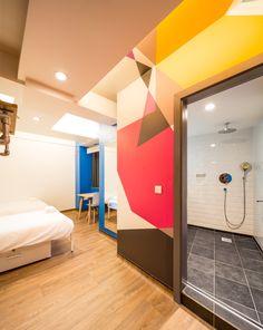 Generator Hostels London #hostel #London #Holiday #Traveling #design #dorm #bedroom