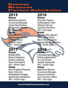 NFL Schedules 2014 on Pinterest | 25 Pins