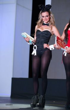 Bunny costume - http://sexypantyhose.nyloncelebs.com/bunny-sexy-girls-in-bunny-outfit-and-pantyhose-05/