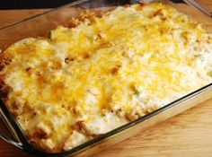 Cheesy Chicken and Rice Casserole WW 7 Points +