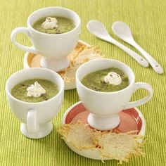 Tangy Asparagus Soup Recipe from Taste of Home