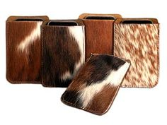 Cowhide iPhone Cover