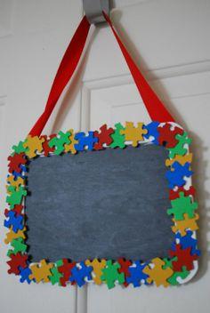 Autism Awareness Crafts!