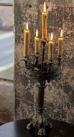 Jewel encrusted candleabra